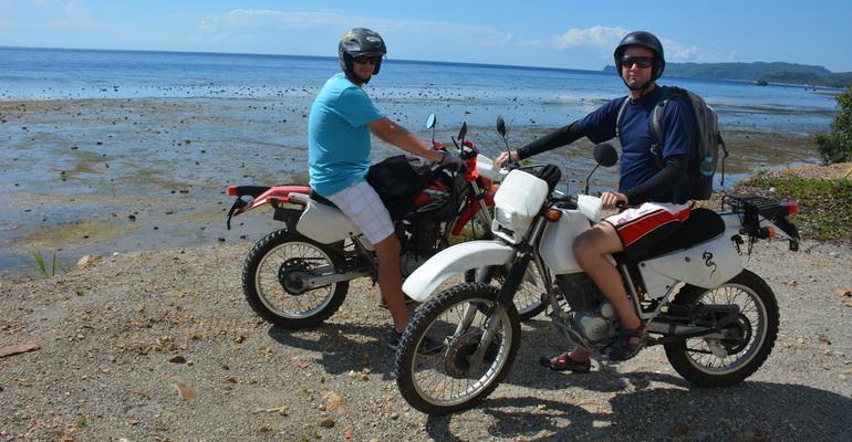 Mainland Tour Large Motorbike