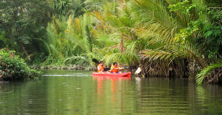 Mainland Tour Ocean Kayaking