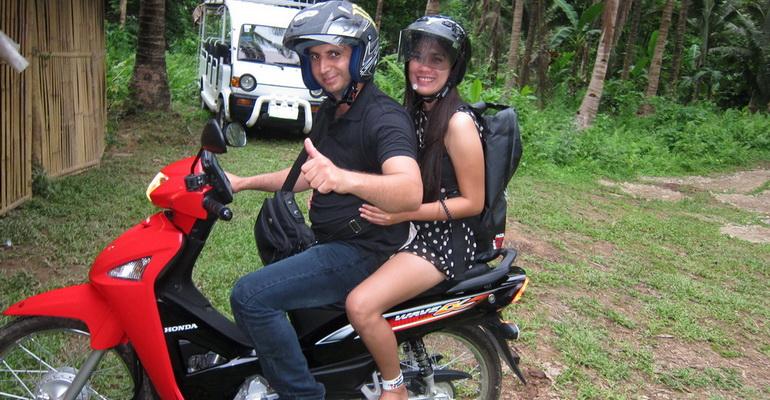 Mainland Tour Small Motorbike