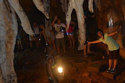 cave tour off boracay activity